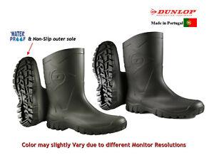 Dunlop Unisex Womens Mens Half Length Wellington Wellies Rain Boots,Garden, Work