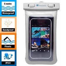 Waterproof iPhone 8 X 7 6 BEACH CASE, Sports 6 Metre Swimming, Samsung Galaxy S8