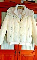 New NEXT winter puffa jacket size 16 CREAM was £72