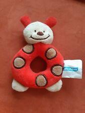 Babyspielzeug Rassel Greifring Babylove Käfer Rot Neuw. Geschenk Baby