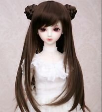 "New 1/6 Girl BJD SD DOC DOD LUT Doll Wig Long Dollfie 6"" Bjd Doll  Wig FB12"