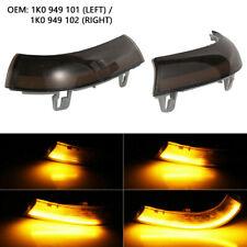 L & R LED Turn Signal Light Mirror Indicator For VW Golf 5 Jetta MK5 Passat UK