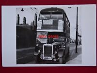 PHOTO  LONDON TRANSPORT BUS NO RTL536 ON ROUTE 99 1/6/50