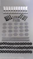 ☀NEW 150 Bulk LOT Lego Pieces STEERING WHEELS Axles TIRES RIMS Parts SEATS LOT b