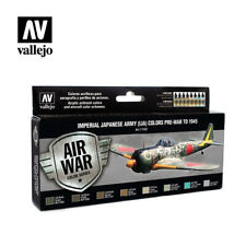 AIRBRUSH PAINTS - VALLEJO MODEL AIR - IJA COLOURS PRE-WAR TO 1945 - 71152