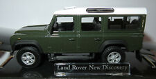 CARARAMA HONGWELL LAND ROVER NEW DISCOVERY DEFENDER VERT FONCE 1/43 IN BOX #230D