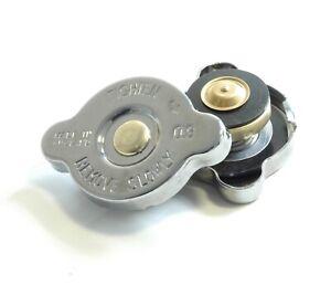 NEW - CHROME - Radiator pressure water tank cap -  replace existing rad cap