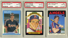 325 card Lot Wally Joyner Rookie Collection & 3 PSA 10 1986 Topps Traded, Fleerl
