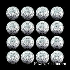2011 2012 2013 2014 2015 2016 2017 2018 P+D Kennedy Half Dollar from Mint Rolls