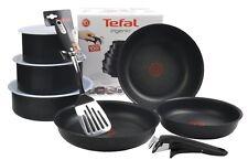 Tefal L65099 Ingenio Expertise Pfannen-Set + 1 Griff + 3 Deckel + 1 Bratwender