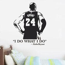 Kobe Bryant Basketball Vinyl Wall Decal Home Decor Bedroom Boys Room Wall Poster