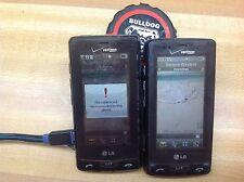 2 each LG VX9600 Versa Verizon Cell Phone Touch Screen 2.0 MP Camera
