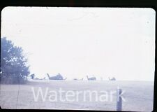 1973 35mm photo slide OKlahoma and Texas vacation trip #5 Army Helicopters