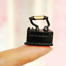 1 pc Miniature Iron for 1:12 Doll House Miniature Living Room Tackle Tool  New.
