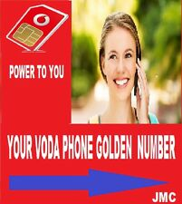 0777 11 456*8 EASY VIP VODAFONE GOLD NUMBER  £26.99