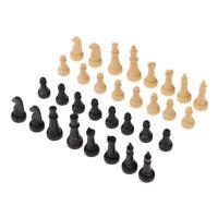 32 Pezzi / Set Pezzi di Scacchi in Plastica da 4,8 cm per Giochi da Tavolo per