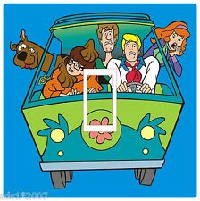 SCOOBY DOO LIGHT SWITCH COVER STICKER DECAL DIGITAL PRINTED SCOOBY