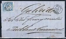 1866.- ÁGUILAS (MURCIA) A PUEBLA DEL CARAMIÑAL