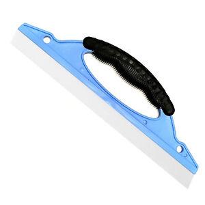 Scheiben Fensterabzieher mit Gummilippe Fensterwischer Abzieher Kunststoff