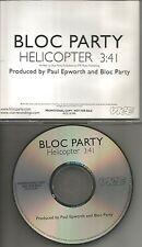 BLOC PARTY Helicopter 2005 USA Rare PROMO Radio DJ CD Single MINT PRCD 301990