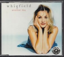 WHIGFIELD Another Day 5 track REMIX CD SINGLE w promo sticker EURODANCE