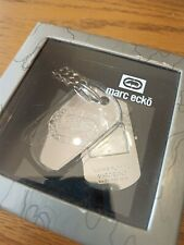Marc Ecko Dogtag Chain Watch - BRAND NEW IN BOX - LIKE NEW!