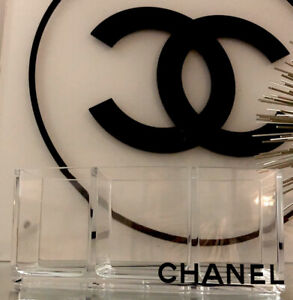 chanel makeup 3 slot organizer