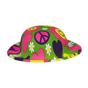Mini 60s Groovy Hippy Hippie Hats 1960s Birthday Celebration Party Favours
