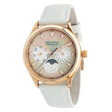 Movado 3650073 Women's Heritage White Quartz Watch