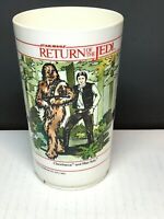 Vintage 1983 Star Wars Return Of The Jedi Cup Han Solo Chewbacca Leia Lando