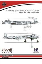 Owl 1/48 Heinkel He-219 V9 G9+FB (W.Streib) # S4828