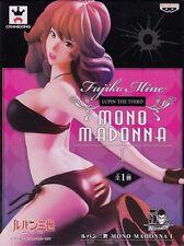 Fujiko Mine Figure Mono Madonna anime Lupin the Third Banpresto