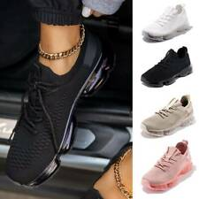 Women's Ladies Lace Up Sport Trainers Sneakers Comfort Walking Mesh Shoes Size