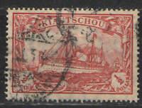 German Colonies - Kiauchau 1907 Sc# 39 Used VG - Nice solid used copy
