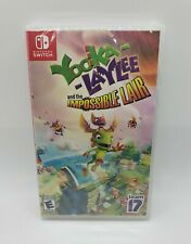 Yooka-Laylee and the Impossible Lair (Nintendo Switch, 2019) NEW Sealed