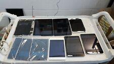 Lote de 7 Apple iPads trabajo: A1395, A1455, A1600-para piezas/reparación
