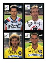 Autogrammkartensatz Eintracht Frankfurt 1994-95 10 Karten Original Signiert(295)