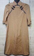 "Vintage Chinese Dress Shirt Hsu Mei Size 9 Split sides 43"" length"