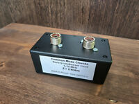 Receive Feedline Common Mode Сhoke, feedthrough DC, SO-239 for hamradio antenna