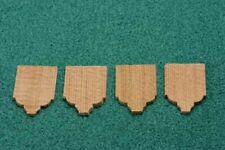 Cedar Shingles for Dollhouse Miniature Roofing