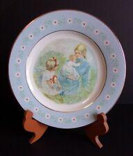 """Rare! Avon Representative Exclusive Tenderness Commemorative 9"""" Plate (1974)"""