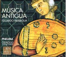 Eduardo Paniagua: Música Antigua. Pneuma Catalogo 1994 - 2009  - CD