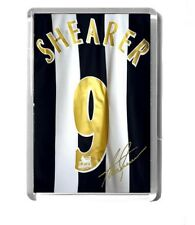 NEWCASTLE UNITED fridge magnet SHEARER SHIRT signed