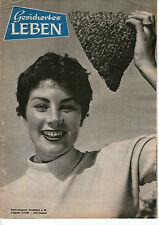 Zeitschrift GESICHERTES LEBEN Jahrgang 1958 Juli August Frankfurt selten