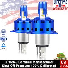 2Pcs 6000K H4(HB2/9003) LED Headlight 280° 3000LM Bulbs Kit High Beam Headlight