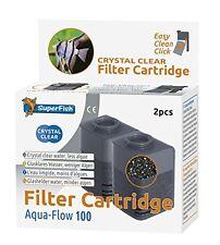 SuperFish Aqua-Flow 100 KRISTALL KLAR Kartuschen Filter
