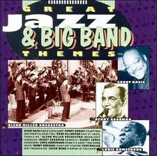 Great Jazz & Big Band Themes, Various Artists - (Compact Disc)