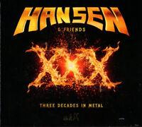 Hansen & Friends Xxx Three Decades en Métal 2016 Édition Limitée 2xCD Neuf Kai