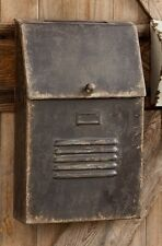 Mailbox-Cottage Style slot House -Metal Rustic/Aged/Vintage FARMHOUSE Mail Box