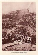 7360) WW ETIOPIA, FORTIFICAZIONE SUL FRONTE NORD.